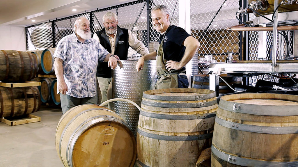 Lord Byron Distillery welcomed Bill Lark, the Godfather of Australian Spirits.