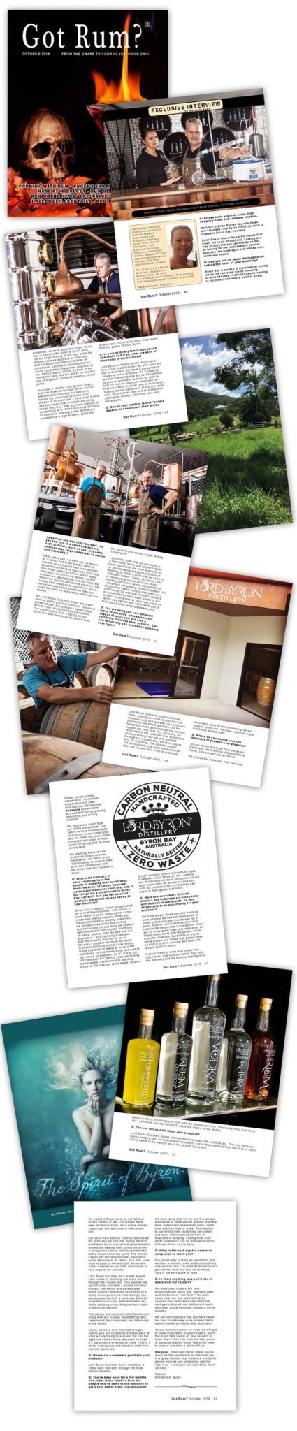 Lord Byron Distillery Got Rum Article