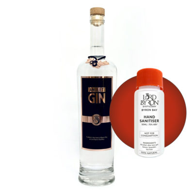 Lord Byron Distillery Amulet Gin - Free Sanitiser with every Spirit Purchase