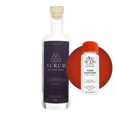 Lord Byron Distillery Aurum - Free Sanitiser with every Spirit Purchase