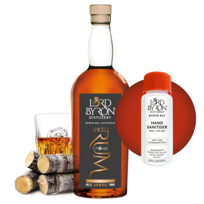 Lord Byron Distillery Rum - Free Sanitiser with every Spirit Purchase