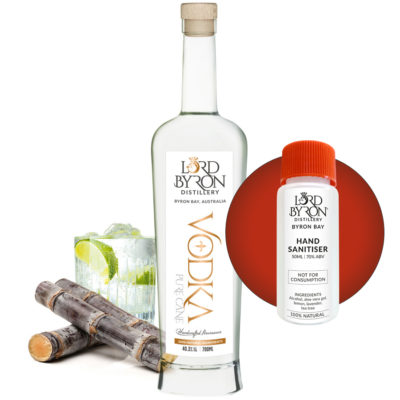 Lord Byron Distillery Vodka - Free Sanitiser with every Spirit Purchase