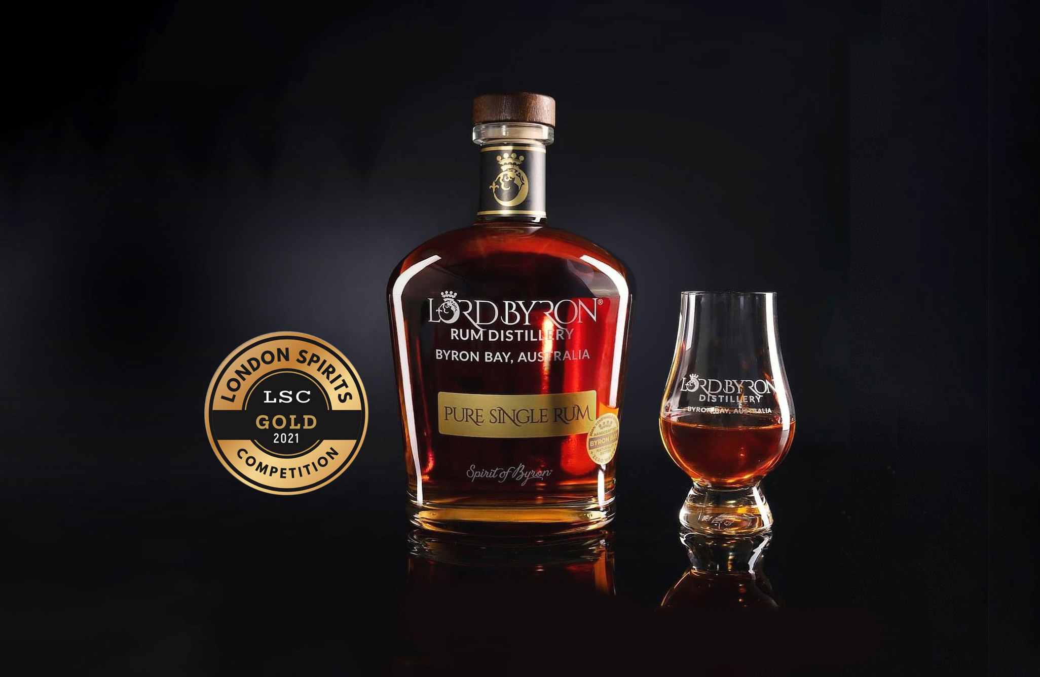 Pure Single Rum Wins Gold in London